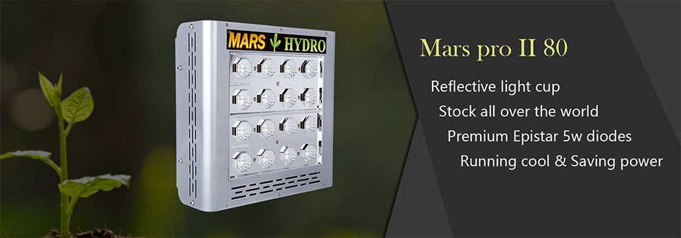 Mars Hydro Dimmable Medical Led Grow Light Housing 300w Hydroponics Full Spectrum