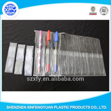 Customized Clear PVC Material Pen Bag with Multiple Bags