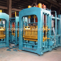 small hydraulic brick making machine, automatic QT3-15 brick machine