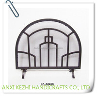 LC-86459 China wholesale powder coating wire fireplace screen