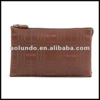 Famous designer real leather clutch bag and evening bags