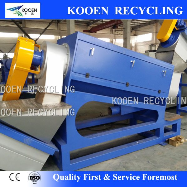 500kg/h pet bottle/pet film scrap recycle