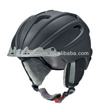 New model ski helmet with visor, ski visor helmets with ears