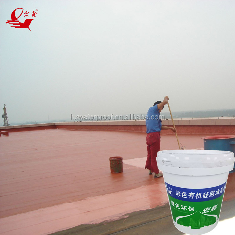 UV resistant silicone waterproof coating