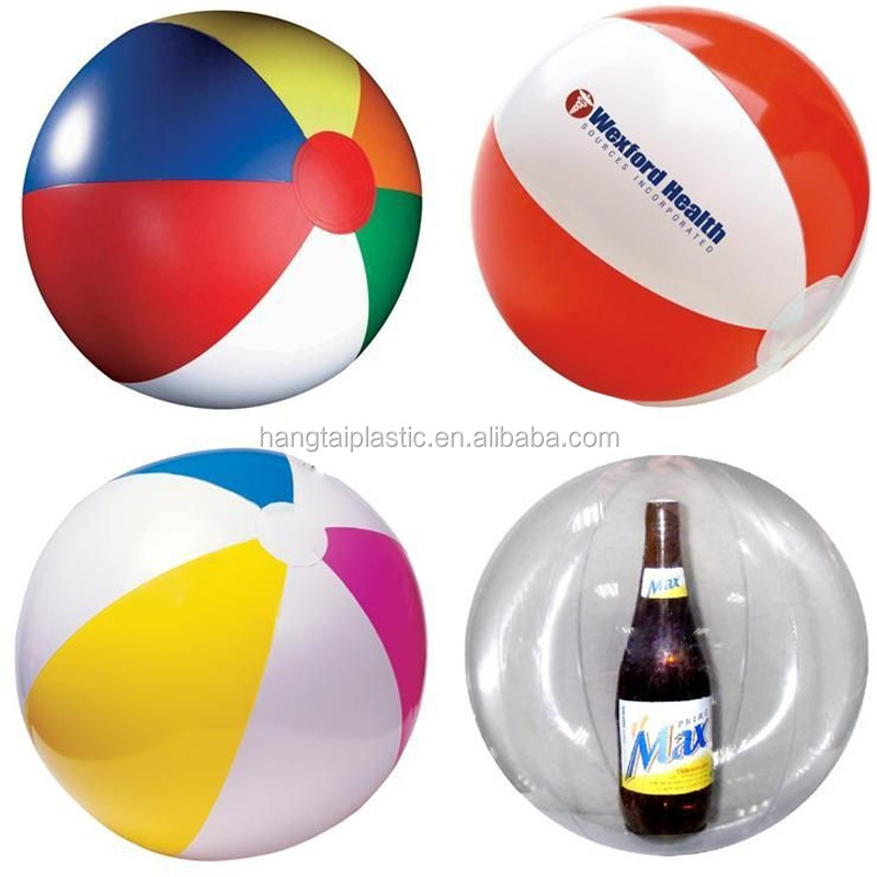 Soft Plastic PVC inflatable beach ball