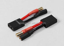 Traxxas Female TRX Connector to 5.5mm Bullet Plug Battery Adapter Cable Connector