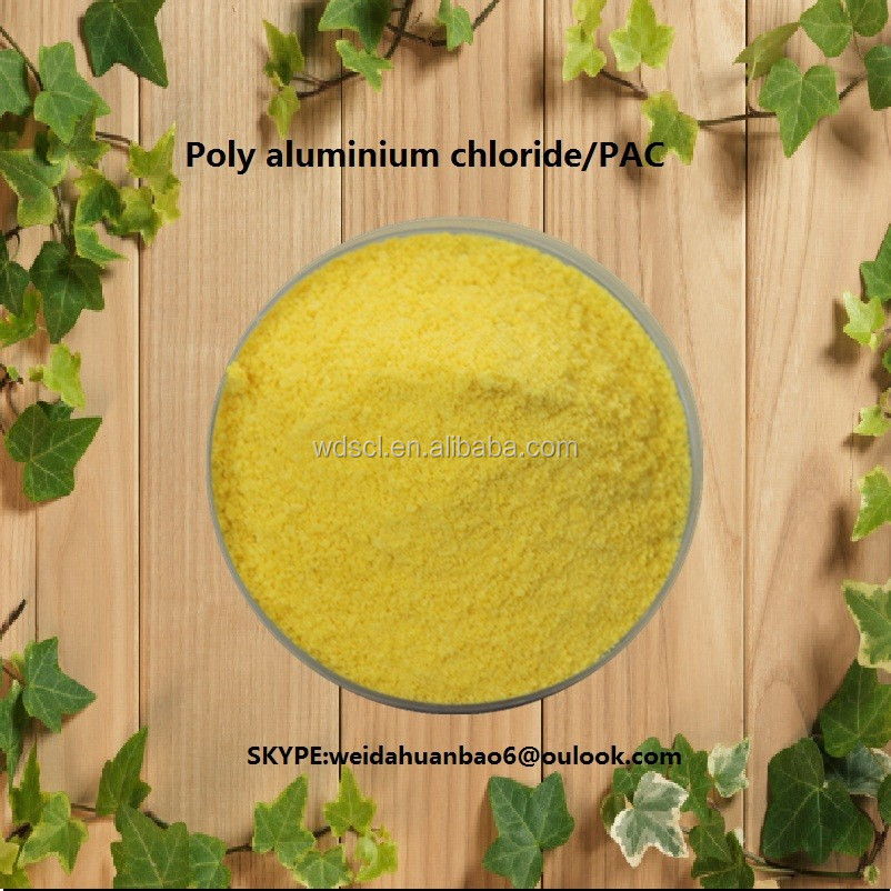 waste water treatment plant for treating water, poly aluminium chloride/PAC