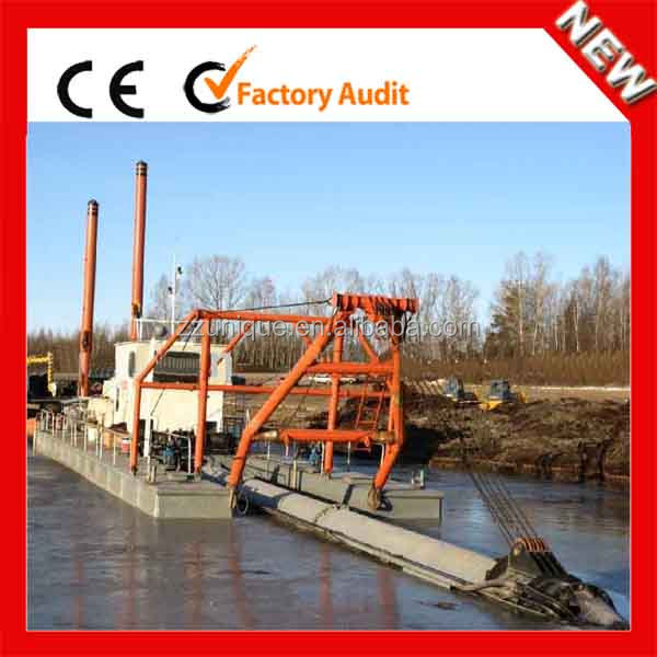 China Cost of Energy-saving Gold Dredging Boat for Sale