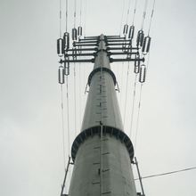 35kv Transmission Electric Steel Pole