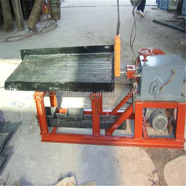 China Gold Supplier Movable Cheap mineral processing shaking table equipment with Security Certificate