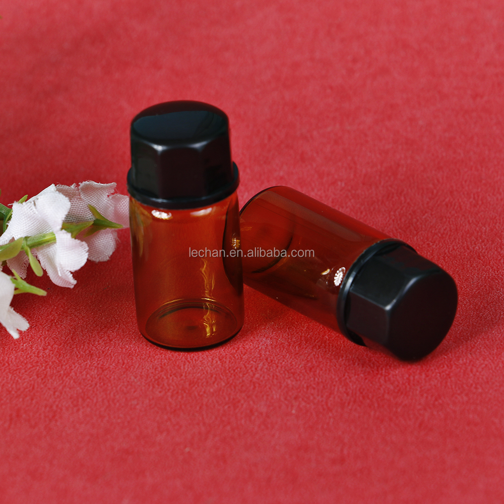 Hot sale cosmetic glass vial 5ml 10ml empty amber steroid vial for steroid customized size