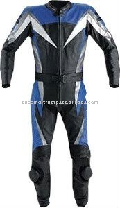 Leather Racing 2Pc Suit,Motor Bike Leather Suit