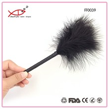 Sexy Adult Toys Super-fluffy feather tickler for enhanced arousal during foreplay