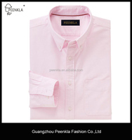 High quality cotton slim fit button down collar oxford men shirt