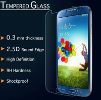Wholesale mobile phone protective film, tempered glass screen protector for Samsung Galaxy S4