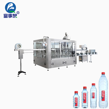 ISO14001 Certified automatic drinking up the mineral water valve filling stuff