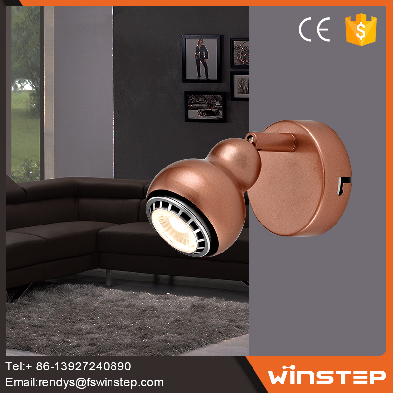 Decorative bath and indoor GU10 led ceiling spotlight housing lamp