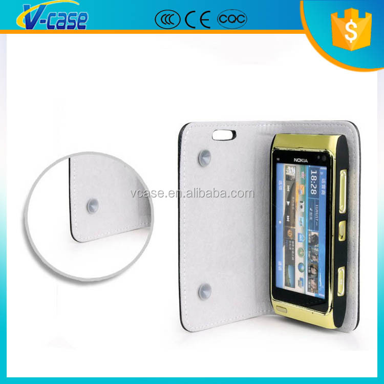Hot Magnetic Wallet PU leather case Leather Case For nokia lumia 108 with Card Holder Stand Skin