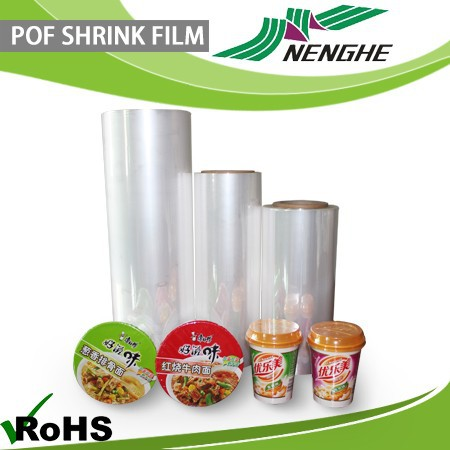 High quality protective plastic film for covering disposable paper cup