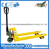 manual hydraulic truck CBY type 2 ton hand pallet truck