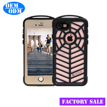 "Metal surface cover design Waterproof case For iPhone 7 5.5"" Cover Durable Protective Case 5 color"