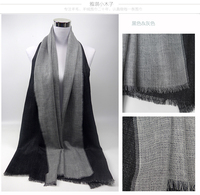 Wholesale Fashion double side solid color Wool & Pashmina Scarf wool shawl