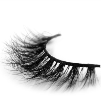 Own brand wholesale top quality handmade real 3D mink eyelash