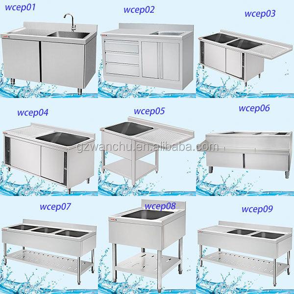 Singapore Market Double Bowl commercial stainless steel sink/kitchen corner portable  kitchen sink/kitchen