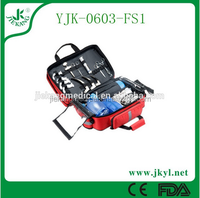 YJK-0603-FS1 high quality custom big auto first aid kit for sale;