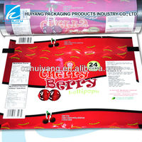 Gravure printed safety food packaging plastic vacuum poly bags film for frozen food