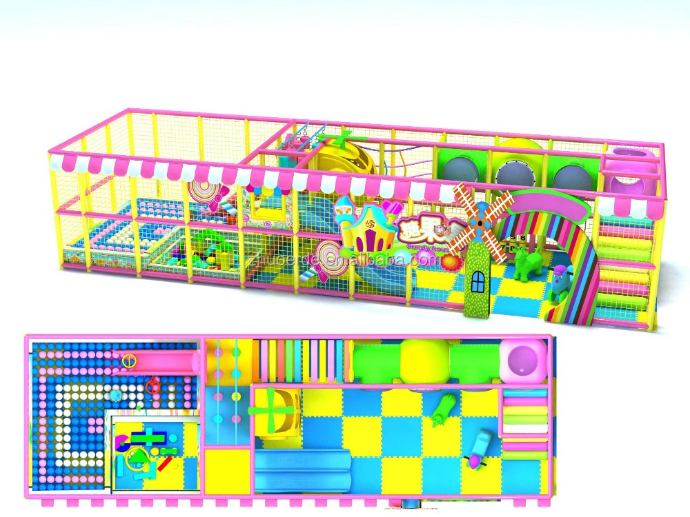 2016 kid new products cheap promotional indoor playground