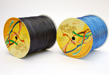 Shiny yafit raffia curling gift ribbon for wrapping factory supply