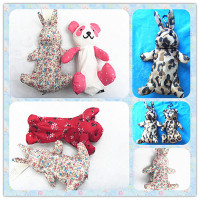 Fancy cute rabbit shape umbrella case
