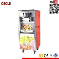 Power saving continuous icecream freezer machine