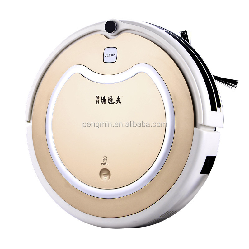 Automatic and cheap robot vacuum cleaner with mop uv light recharging