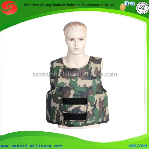 High gloss polished molle bulletproof vest best service
