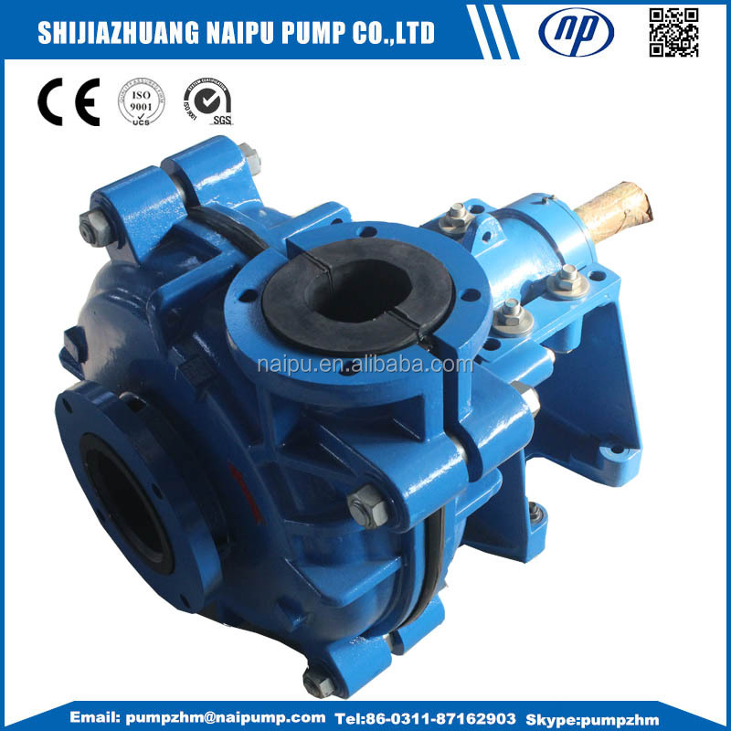 rubber wet end parts good quality slurry pumps