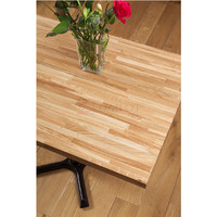 Foshan Manufacturer Custom Made Restaurant Table Top Wood Dinning Table