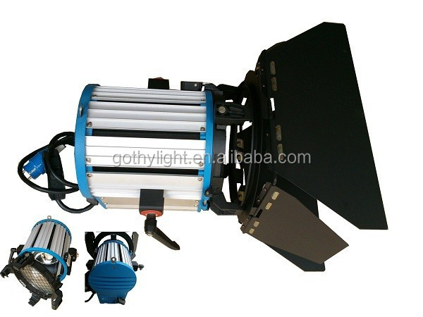 Fresnel Professional Barndoor Video Light 1000w