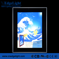 EdgeLight AF50 Hot sale illuminous slim led light box for outdoor signage