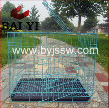 Alibaba Supplier Decorative Dog Crates Kennels And Large Steel Dog Cage For Sale