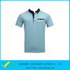 Light Dri Fit Spandex Contrast Color Pocketed Man's Fitness Golf Shirts