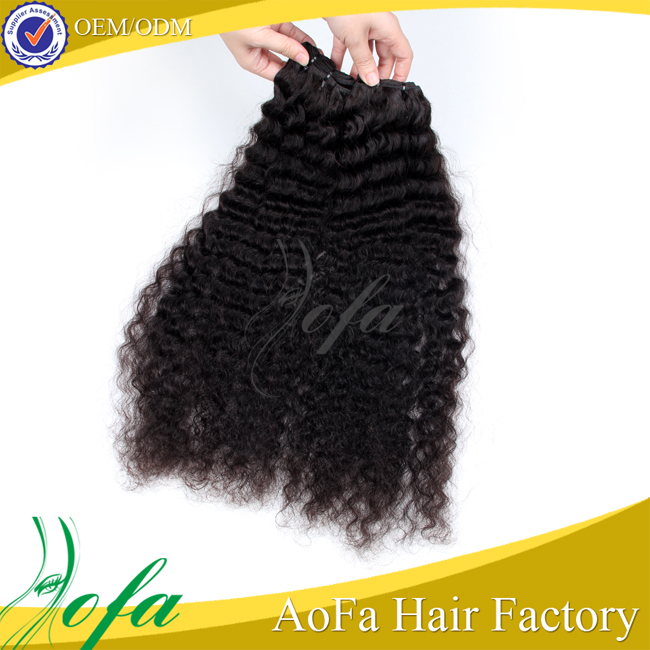 100% pure raw unprocessed virgin human hair wholesale