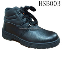 Anti-microbial lining water and oil resistant work time safety shoes/boots