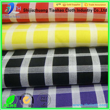 factory direct supply organic cotton fabric rolls 100% cotton yarn dyed shirting fabric