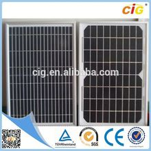 Competitive Price Durable flexible solar panel 20w