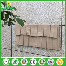 Hot Sales vinyl Cedar Shingles siding vinyl shake siding faux brick wall panels vinyl shake mdf board for home and commercial