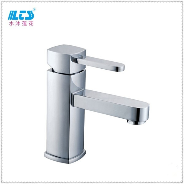 2016 Newest Single Handle Basin Sink Faucet Chrome Brass Vanity Mixer Tap