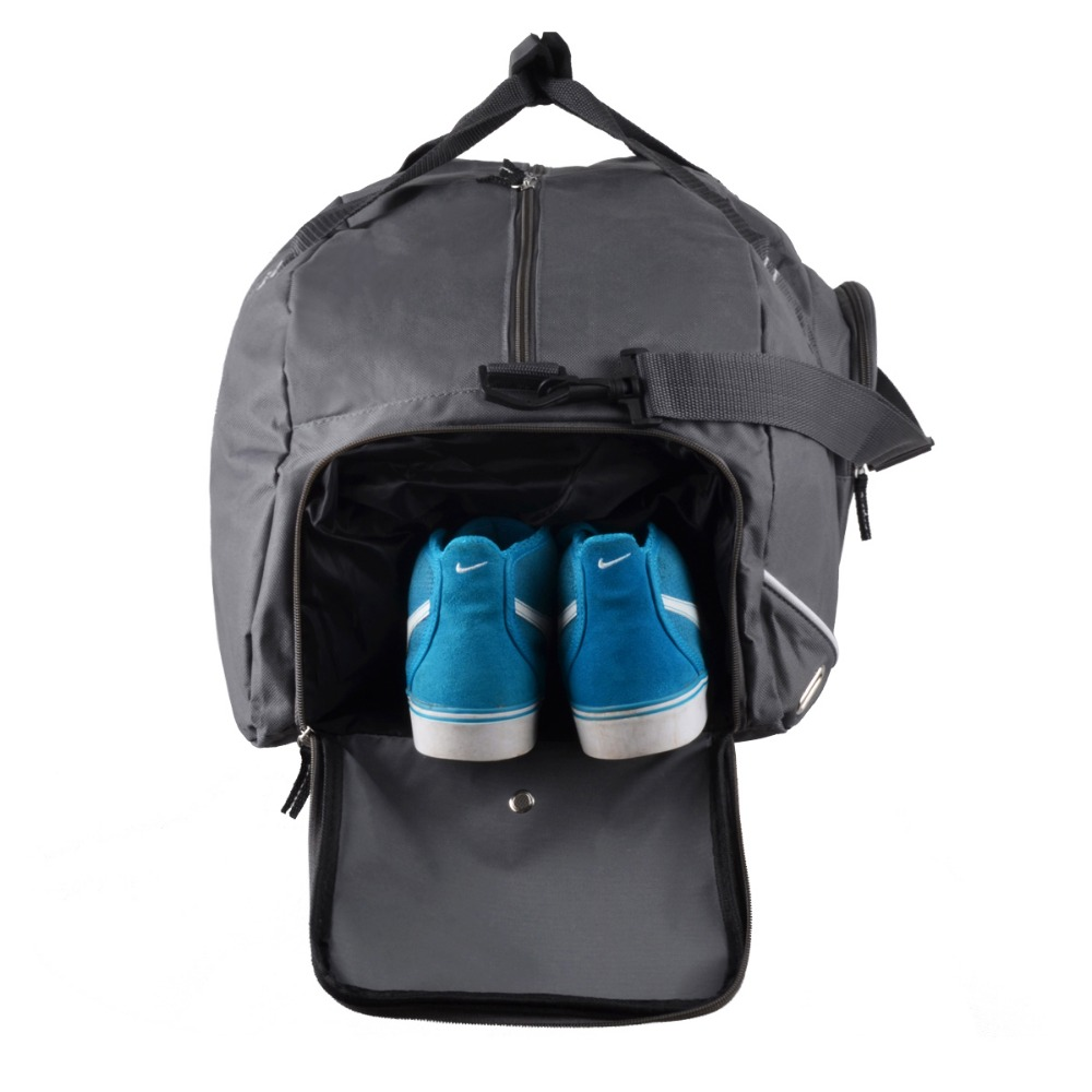 Lastest baseball hat compartment bag sport time portable one day travel bag
