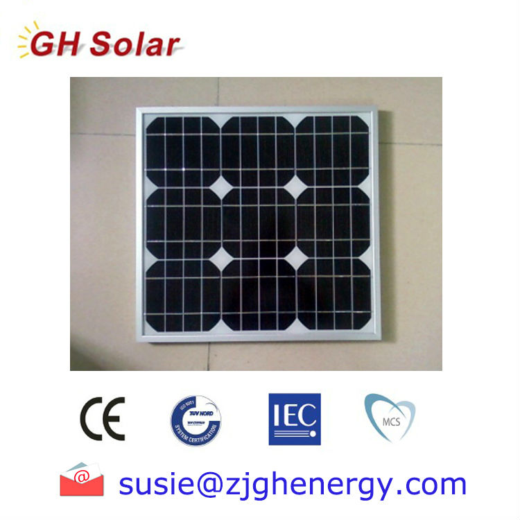 10w 50w monocrystalline ul listed solar panels